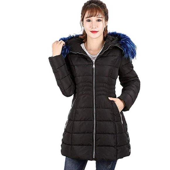 Sexybaby Women Open-Front Fall Winter Satin Parka Outwear Bomber Jacket